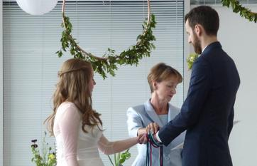 wedding with handfasting Sheffield