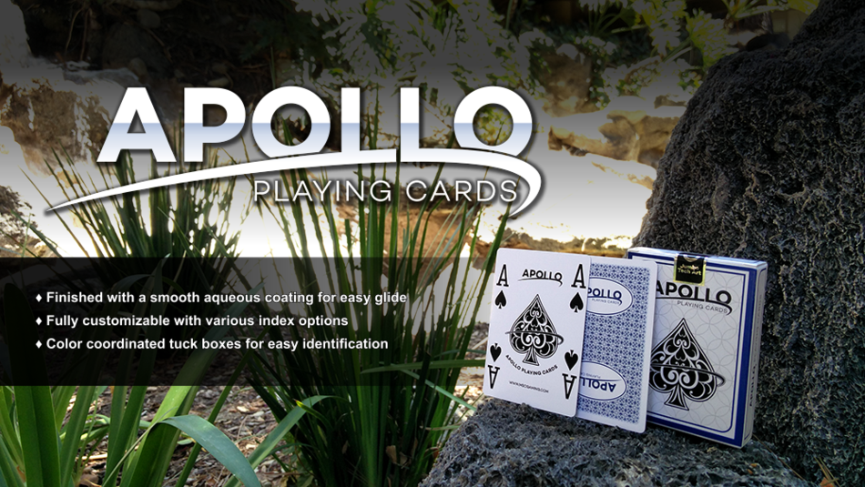 MSC Gaming's Apollo Playing Cards
