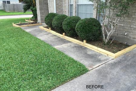 Pressure Wash walks in Cypress Texas