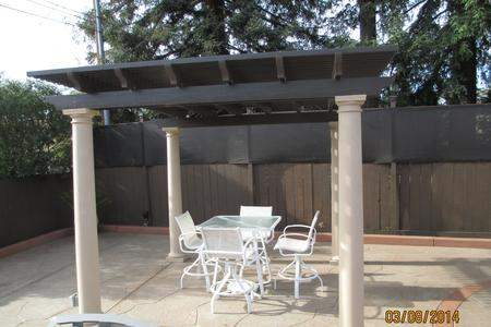 build patio standing a diy freestanding humble free cover mesmerizing to how