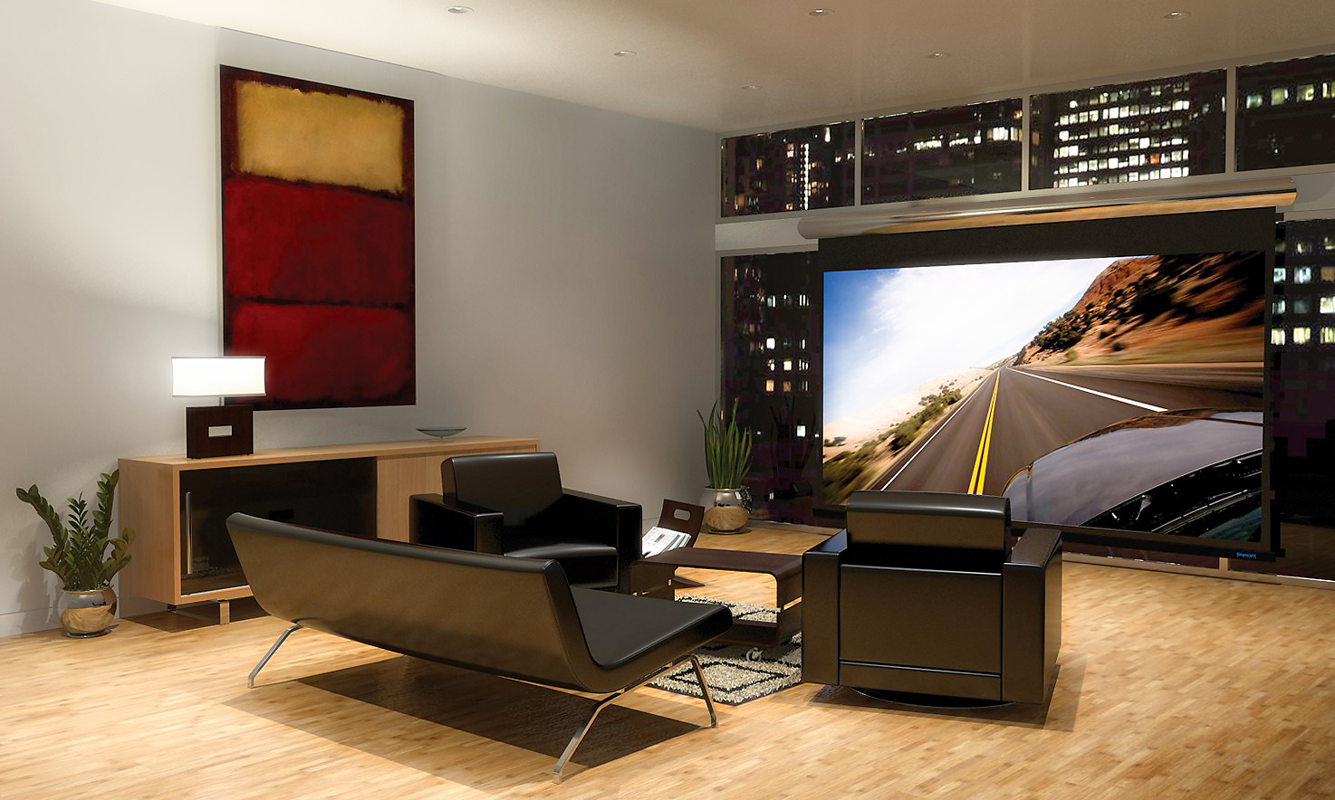 Media Rooms theaters & media rooms
