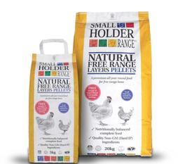 Chicken feed for sale at Chickenfeathers - layers pellets