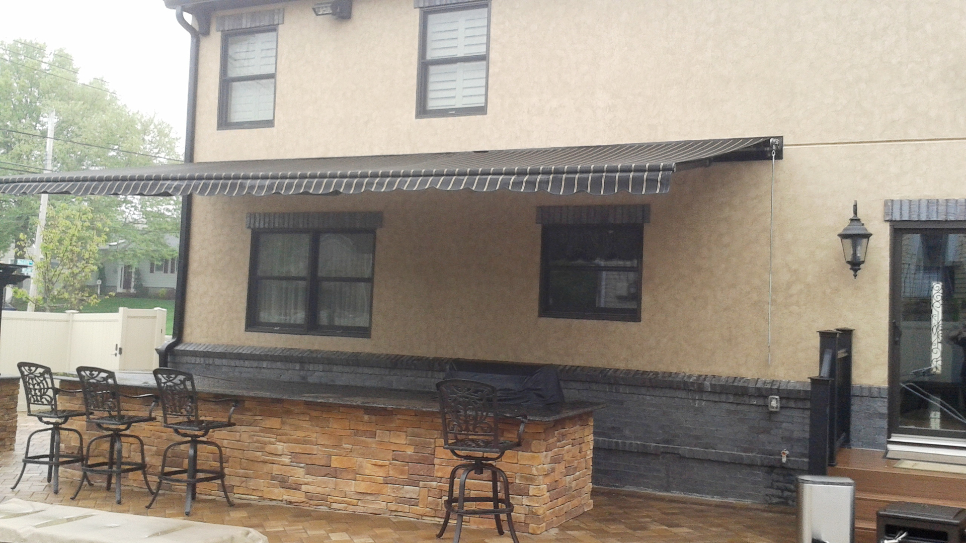 Retractable Awning Custom Canopy STATEN ISLAND AWNING