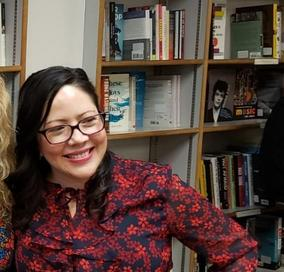 Melanie Márquez Adams Latina Writer Iowa Prairie Lights Latino Literature Crime Fiction Jennifer Thorndike