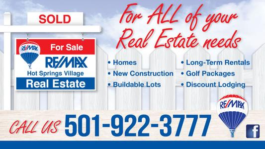 REMAX Property Lots for Sale in Hot Springs Village