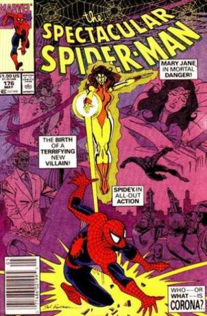 Geekpin Entertainment, Spectacular Spiderman 176, Corona, Comic Spec