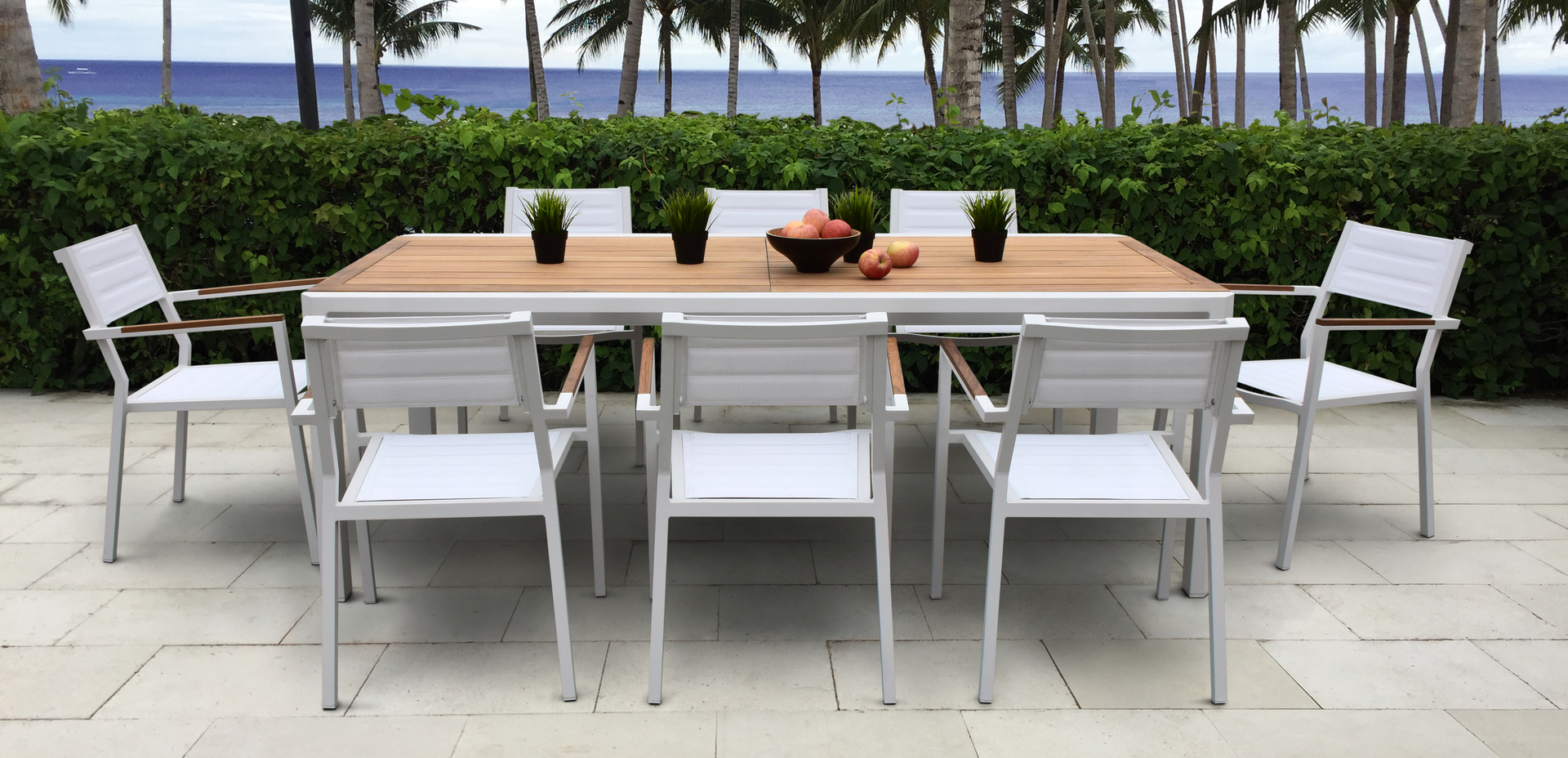 Modern Aluminum Patio Furniture ab modern collections, cast aluminum patio furniture, outdoor