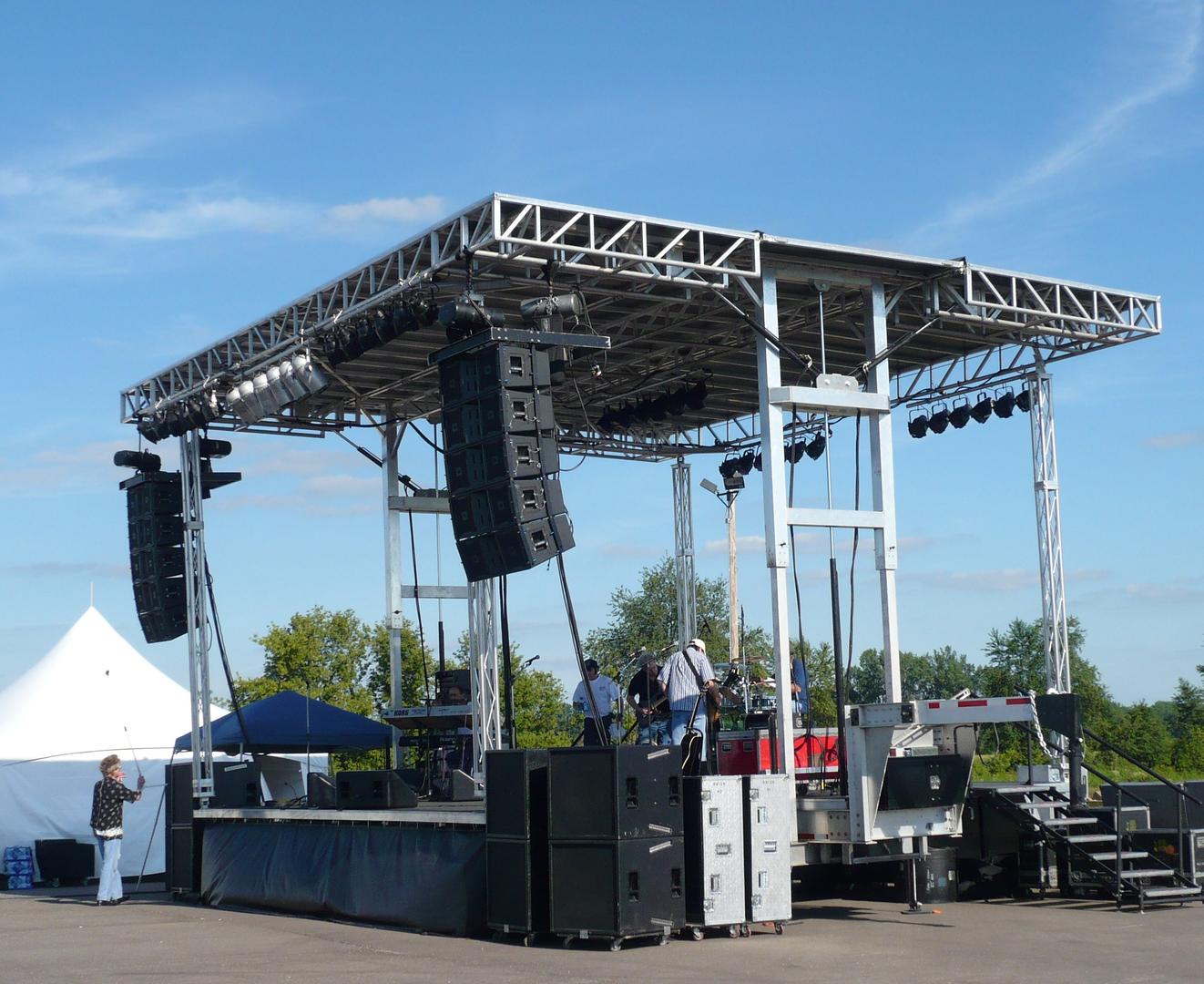 Festival Mobile Stage Rentals - Apex Mobile Stage Rentals, Apex 3224