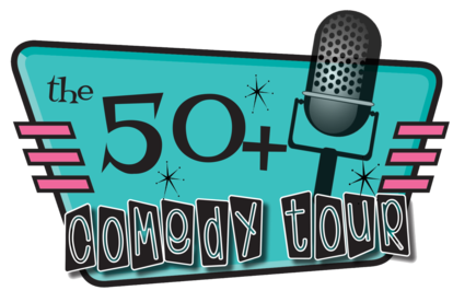 Image result for 50+ comedy tour