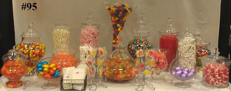 Candy Buffet Setups