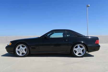 2001 Mercedes-Benz SL500 Roadster for sale at Motor Car Company in San Diego California