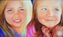 sam and sab heapps portrait painting