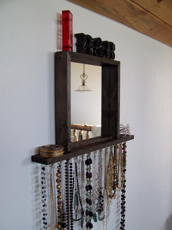 JEWELRY ORGANIZER WALL HANGING