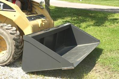 Low Profile Skid Steer Bucket