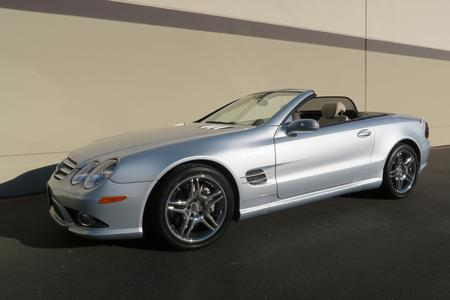 2008 Mercedes-Benz SL 550 for sale at Motor Car Company in San Diego California