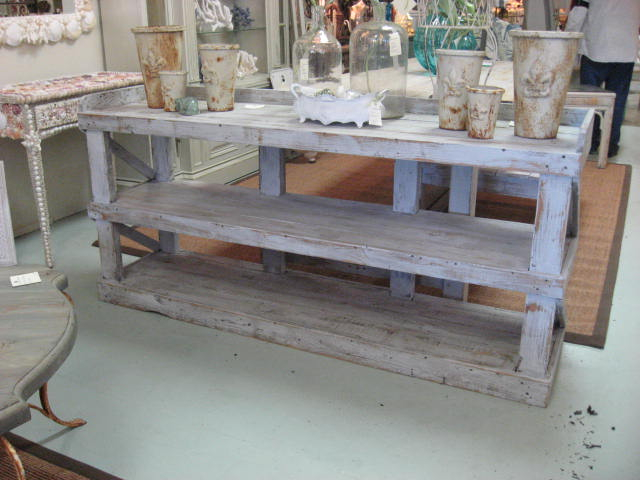 - Sofa Tables Custom Made From Reclaimed Wood