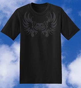 Flaming Hog, flame, hog, rebel, bad to the bone, Flying Pig, Wings , Pig Hoof, Bat Pig, Hoof, Hog, Ham, Swine, Pig Symbol, tee shirts, tshirts