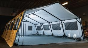 Medical Surge Response Shelters