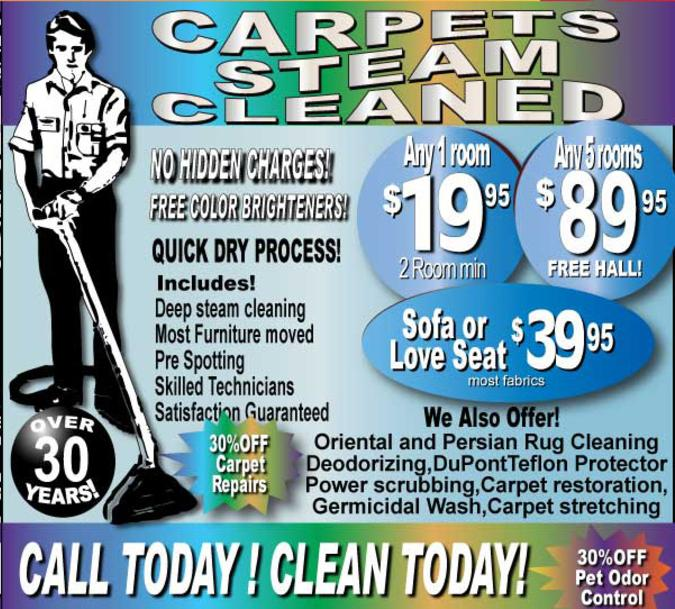 Carpet Tile And Upholstery Cleaning Orange County