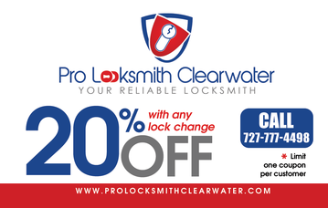 Pro Locksmith Clearwater | Locksmith Coupon