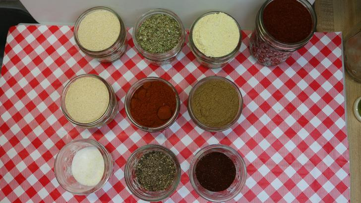Chile & Lime taco seasoning ingredients, Noreen's Kitchen