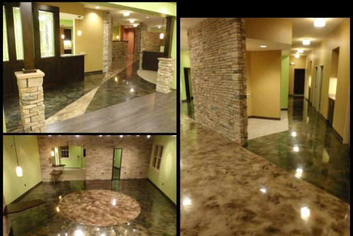Metallic Epoxy Floor Medina Ohio