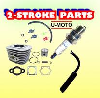 2-STROKE MOTORIZED BIKE PARTS