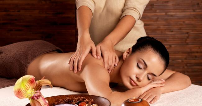 Relaxing Back Massage Picture