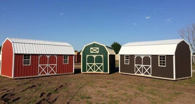Different sizes and styles of Weather King lofted barns are available. Build and customize your own shed using Weather Kings 3 D web site.