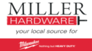 Miller Hardware, Milwaukee Tool, Garnett, KS