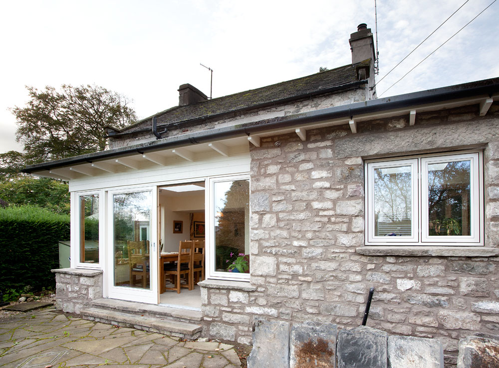 Single Storey Extension To 17th Century Cottage The Existing Had A Dark Poorly Lit Interior Particularly Former Kitchen Dining Room