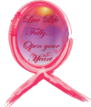 Pink Painted Ribbon Breast Cancer Designs