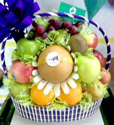 lẵng hoa quả nhập khẩu, lẵng hoa quả đẹp uy tín tại Hà Nội