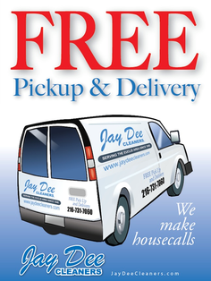 Jay Dee Cleaners Dry cleaning Shirt laundry Pickup and delivery drycleaners near me