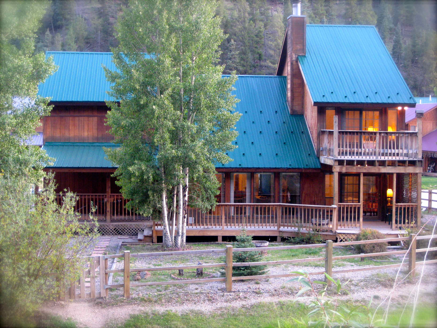 lodge aspen induced cabin vacation cabins red rentals nm policies bears mountain info linked river three