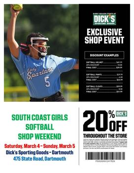 Dick's Sporting Goods Shopping Weekend