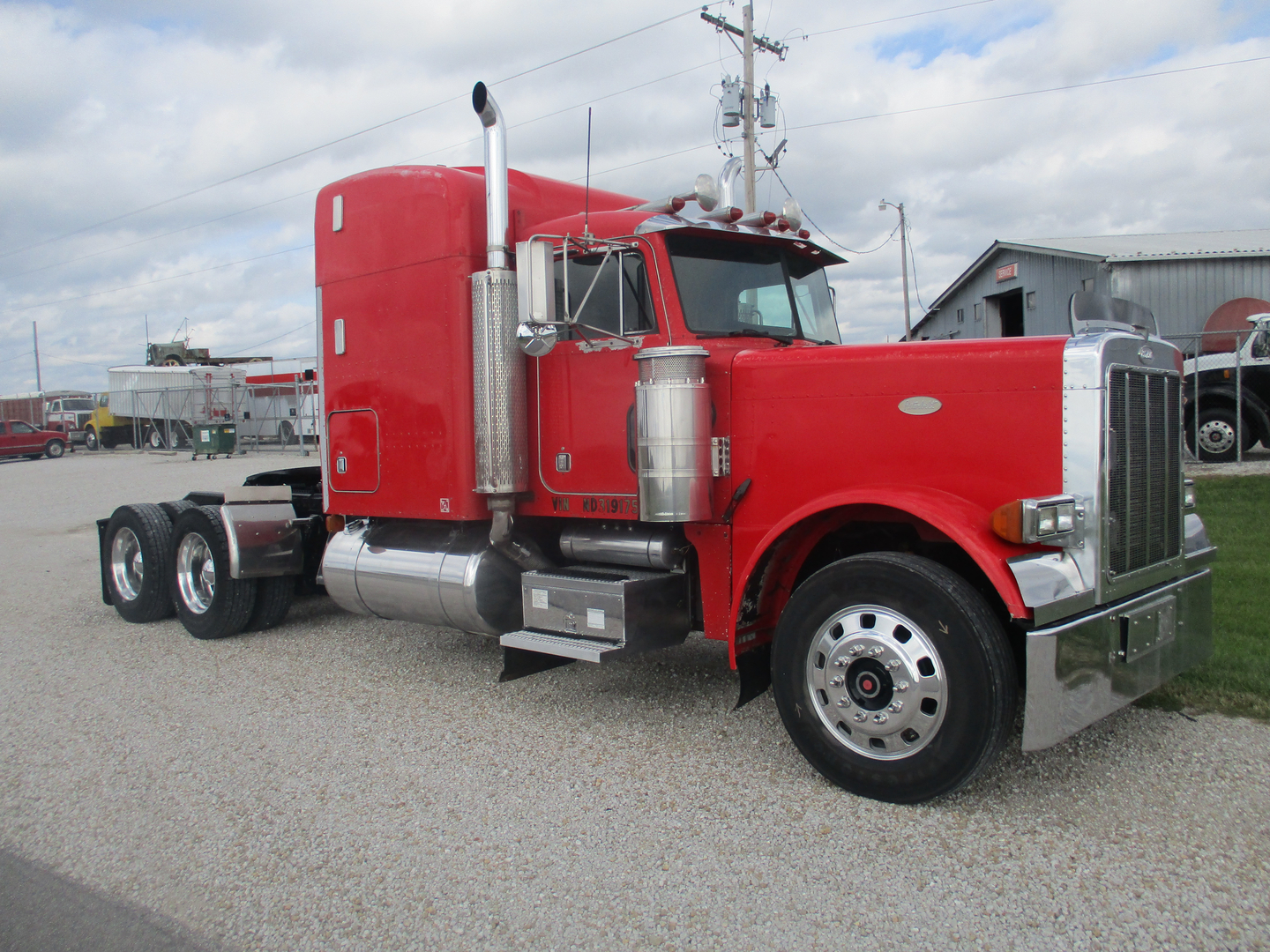 1998 International 4700, DT 466 E 230 HP, Allison automatic, air brakes,  power steering, double frame, air conditioning, stainless mirrors, 12 front  axle, ...