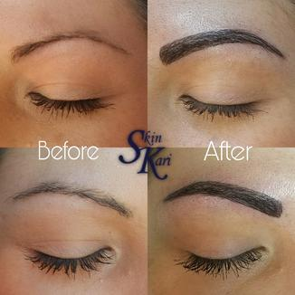 NEW 3D Microblading, semi-permanent makeup brow tattoos
