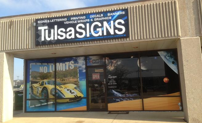 Tulsa Signs Serving Tulsa Broken Arrow Since 1991
