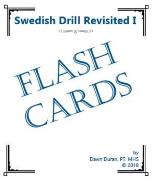 Swedish Drill Revisited Flash Cards