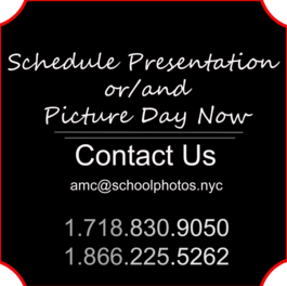 Contact The School Photo Company and schedule presentation