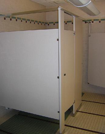 Plastic Laminate Stalls