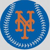 Cross Stitch Chart pattern of the New York Mets