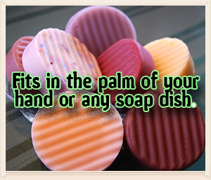 Swan Haven Soap Round Bars all natural hand-crafted soaps and bath products Petaluma CA
