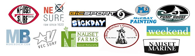 Cape Cod Shark Paddle Sponsors 2014