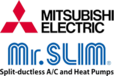 Mitsubishi Electric Mr Slim systems available