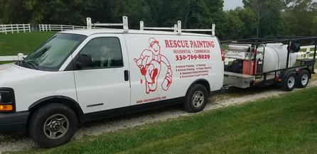 Rescue Painting offers the perfect power wash solutions