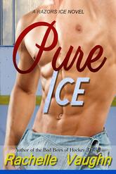 Pure Ice by Rachelle Vaughn sports romance sexy hockey book