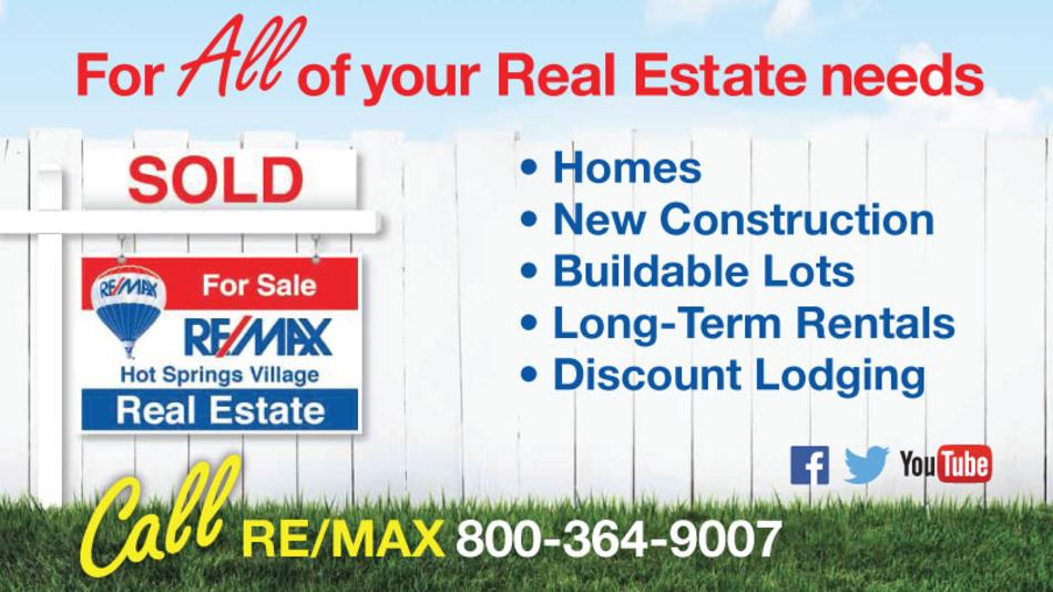 REMAX Real Estate in Hot Springs Village - For ALL of your real-estate needs