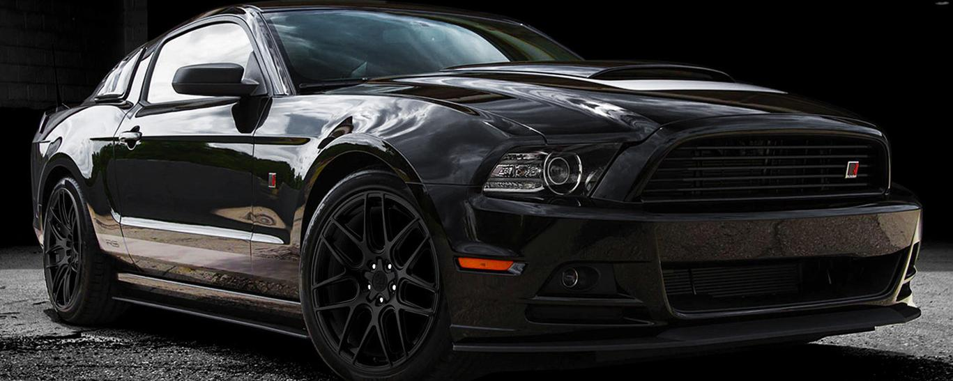 Motiv Custom Mustang Wheels Canton Ohio - Cleveland Ohio Rims - Akron Ohio Black Custom Wheels - Ford Mustang Rims